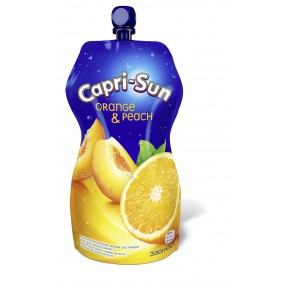 Capri-Sun Orange & Peach 0,33 ltr