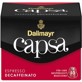 Dallmayr Capsa Espresso Decaffeinato Intensität 6