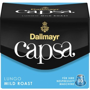 Dallmayr Capsa Lungo Mild Roast Intensität 4