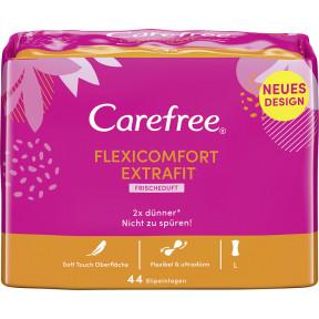Carefree Flexicomfort Extrafit Slipeinlagen 44ST