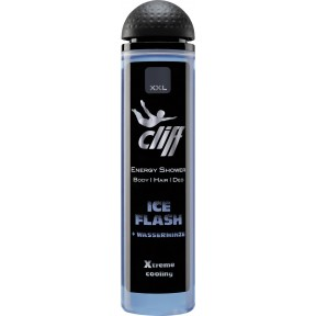 Cliff Energy Duschgel Body & Hair Ice Flash + Wasserminze 300 ml