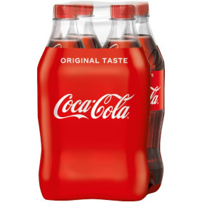 Coca-Cola 4x 0,5 ltr PET