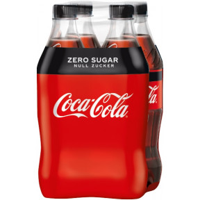 Coca-Cola Zero 4x 0,5 ltr PET