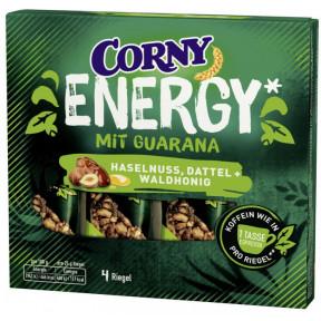Corny Energy mit Guarana Haselnuss, Dattel & Waldhonig 4ST 100G