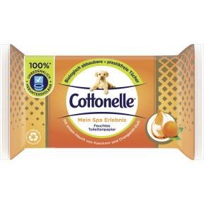 Cottonelle Feuchtes Toilettenpapier Mein Spa Erlebnis Cashmere & Orangenölduft NF 42ST