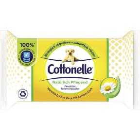 Cottonelle Feuchtes Toilettenpapier Natürlich Pflegend Kamille & Aloe Vera 42ST