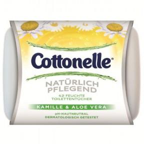 Cottonelle Feuchte Toilettentücher Natürlich Pflegend Box