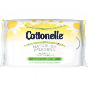 Cottonelle Feuchte Toilettentücher Natürlich Pflegend NF