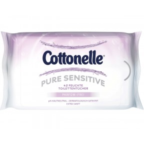 Cottonelle Feuchte Toilettentücher Pure Sensitive NF