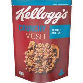 Kelloggs Crunchy Müsli Peanut Butter 450 g