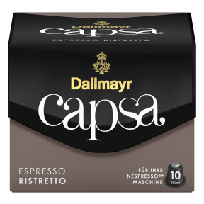 Dallmayr Capsa Espresso Ristretto Intensität 10 Nespresso kompatible Kapseln 10x 5,6 g