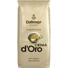 Dallmayr Crema d´Oro Kaffee ganze Bohnen