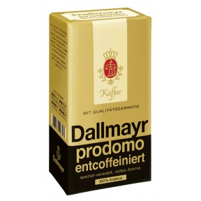 Dallmayr Kaffee Entkoffeiniert gemahlen 500 g