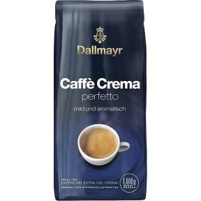 Dallmayr Caffè Crema perfetto mild und aromatisch ganze Bohne