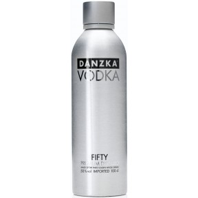 Danzka Vodka Black 50% 1l