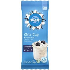 Davert Bio Chia Cup Kokosnuss 43 g