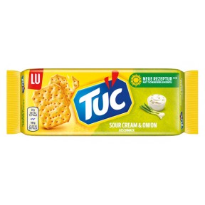 De Beukelaer Tuc Cracker Sour Cream & Onion 100 g