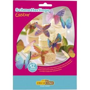 Decocino Essbare Schmetterlinge 12 Stück