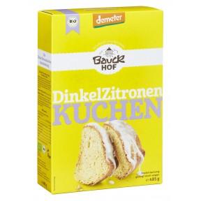 Bauckhof Demeter Bio Dinkel Zitronenkuchen 485 g