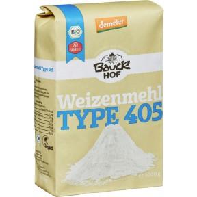 Bauckhof Demeter Bio Weizenmehl Type 405 1 kg