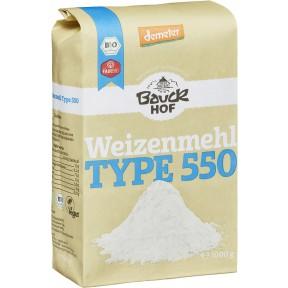 Bauckhof Demeter Bio Weizenmehl Type 550 1 kg