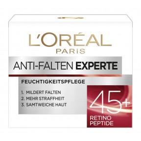 L'Oréal Anti-Falten Experte Feuchtigspflege 45+ Retino Peptide