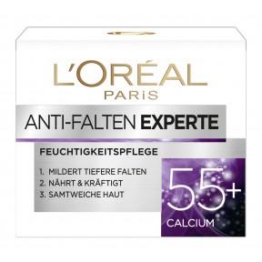 L'Oréal Anti-Falten Experte Feuchtigkeitspflege 55+ Calcium
