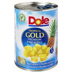 Dole Ananasstücke in Saft