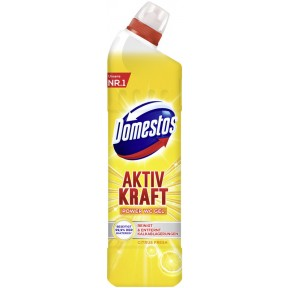 Domestos Aktiv Kraft WC Gel Citrus Crystal 0,75 ltr