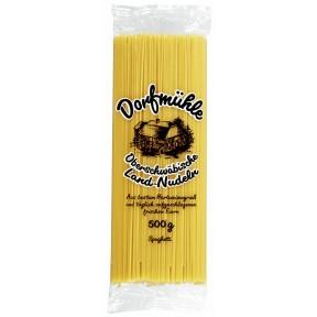 Dorfmühle Oberschwäbische Land-Nudeln Spaghetti 500 g