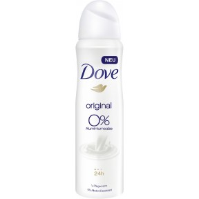 Dove Deo-Spray Original 0% Aluminiumsalze 150 ml