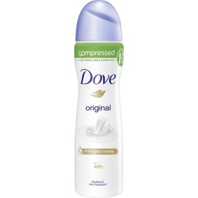 Dove Deospray Original compressed
