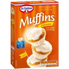 Dr.Oetker Backmischung Muffins Zitrone