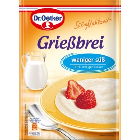 Dr.Oetker Grießbrei Weniger Süß 76 g