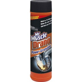 Mr. Muscle Drano Power Granulat Abflussreiniger 500 g