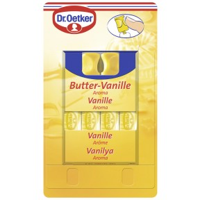 Dr.Oetker Butter Vanille Aroma 4x 2 ml