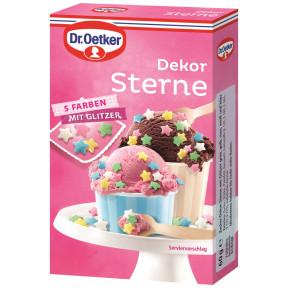 Dr.Oetker Dekor Sterne 5 Farben 60G