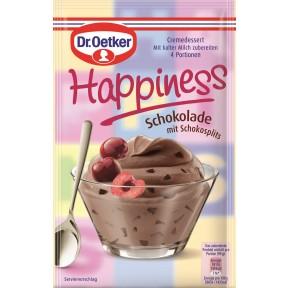 Dr.Oetker Happiness Schokolade mit Schokosplits