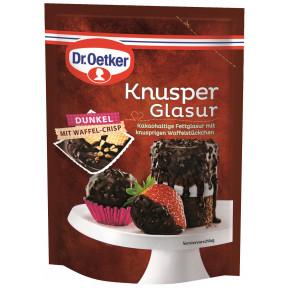 Dr.Oetker Knusper Glasur Dunkel 125 g