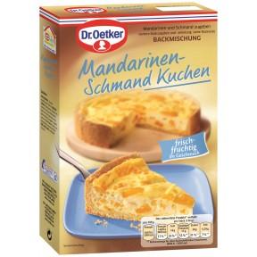 Dr.Oetker Backmischung Mandarinen Schmand Kuchen