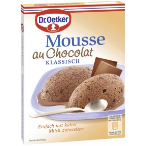 Dr.Oetker Mousse au Chocolat Klassisch