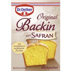 Dr.Oetker Original Backin mit Safran 3x 16,3 g