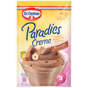 Dr.Oetker Paradies Creme Nougat Geschmack 70G