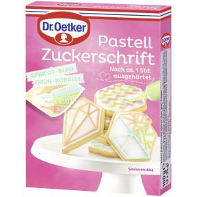 Dr.Oetker Pastell Zuckerschrift 100G