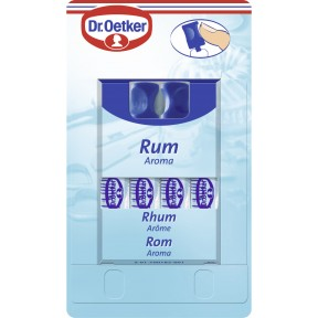 Dr.Oetker Rum Aroma 4x 2,08 g