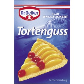 Dr.Oetker Tortenguss klar ungezuckert 3x 12 g