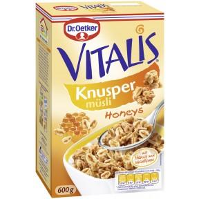 Dr.Oetker Vitalis Knusper Honeys 600 g
