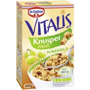 Dr.Oetker Vitalis Knusper Müsli mit Honig