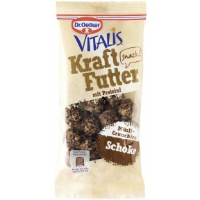 Dr.Oetker Vitalis Kraftfutter mit Protein Schoko 45g