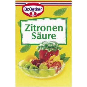 Dr.Oetker Zitronensäure